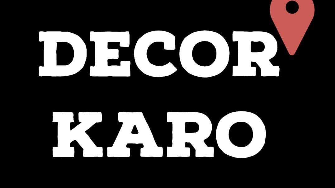 Decorkaro | One stop solution for all the Interior needs