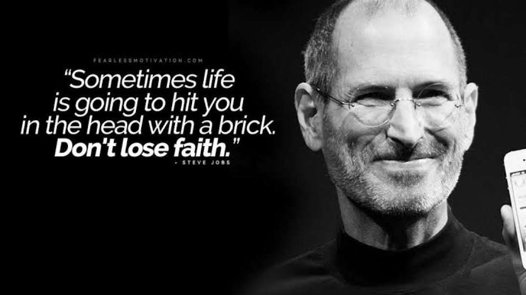Steve Jobs Motivational Speech _ Inspirational Video _ Entrepreneur Motivation _ Startupstories