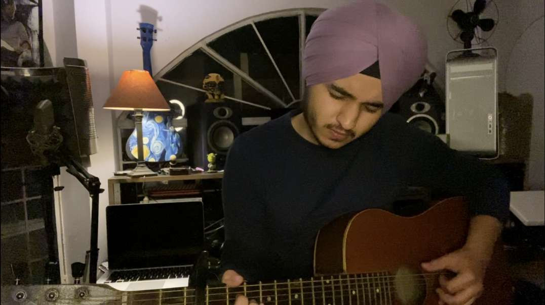 Colour me in ~ Damien Rice |  Cover By Hardith Singh Growar