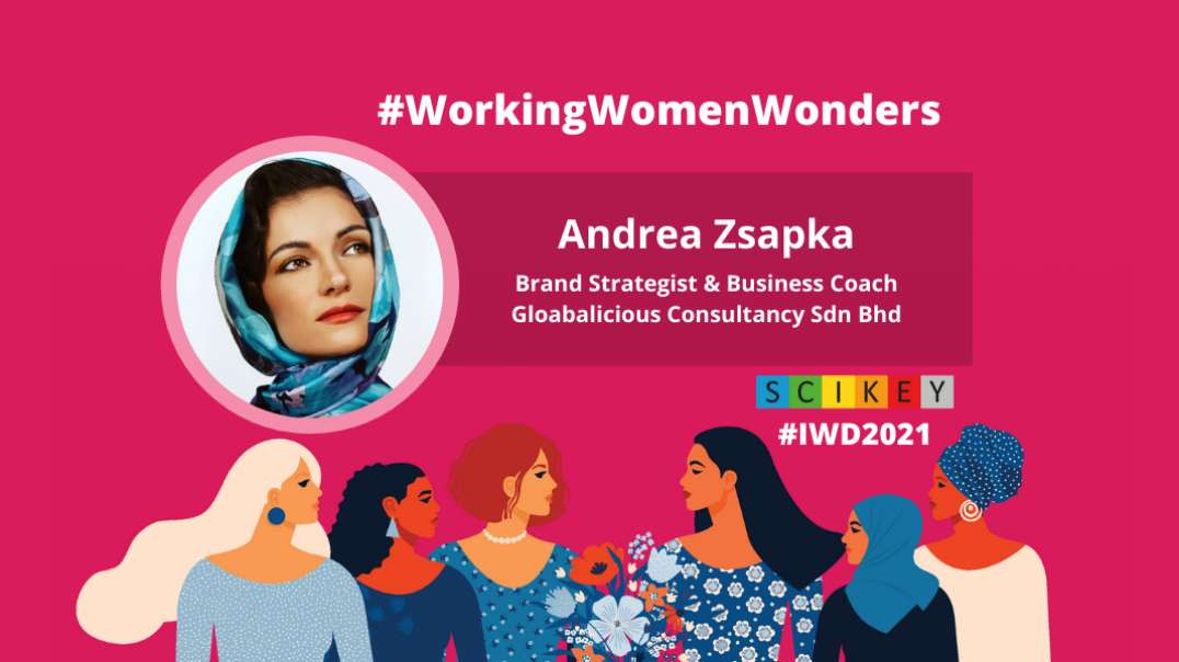 IWD 2021: SCIKEY in conversation with Andrea Zsapka